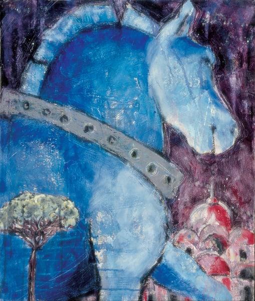 Venetian Horse3 Art | Joan Cox Art
