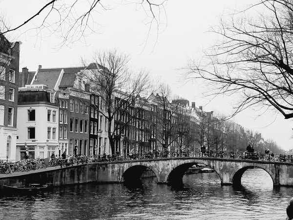 Amsterdam Canals & Canal Houses #1 Photography Art | Photoissimo - Fine Art Photography