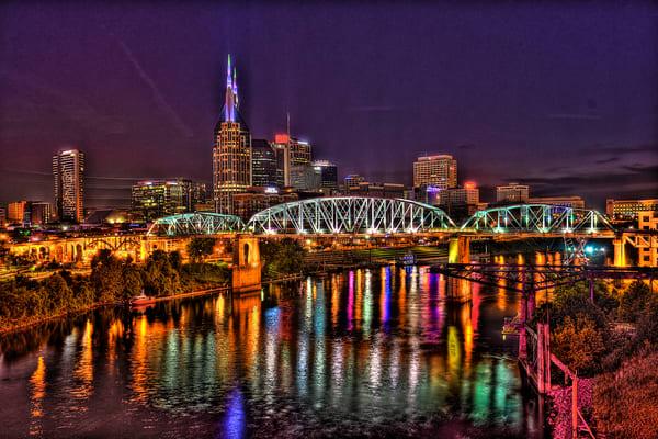 Sky Bridge Art   Nashville Noted Photography
