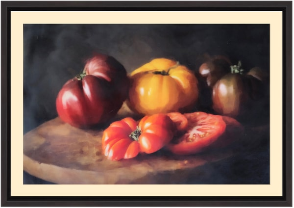 """Heirloom Tomatoes"" Encaustic Limited Edition"