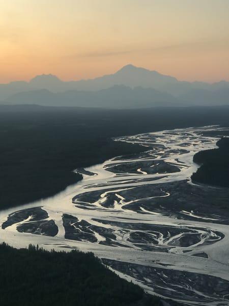 Mountains and Alaskan Rivers