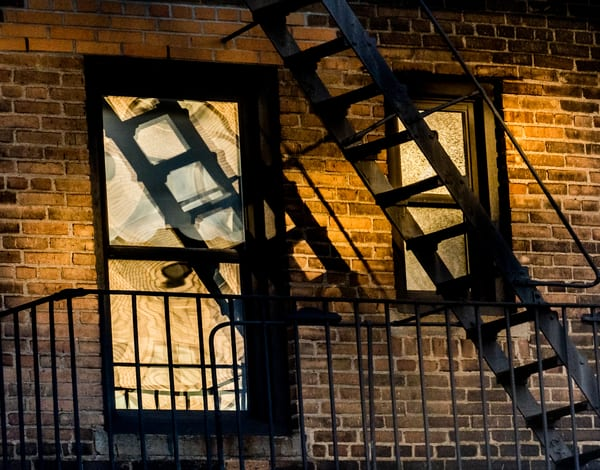 Early Morning Light Out My Window, Nyc Photography Art | Ben Asen Photography