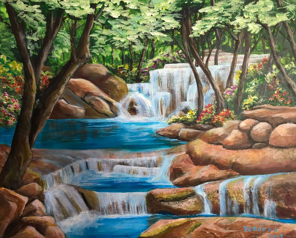 Hill Country Falls Art | House of Fey Art