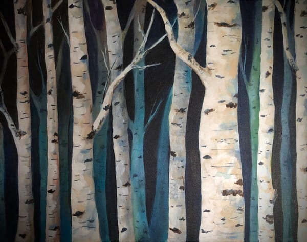 Aspen Blues Art | House of Fey Art