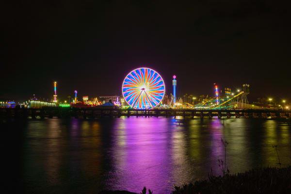 Del Mar Fair At Night  Art | McClean Photography