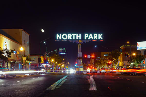 North Park At Night 1 Photography Art | McClean Photography