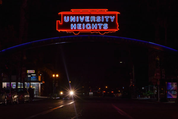 University Heights At Night 1 Art | McClean Photography