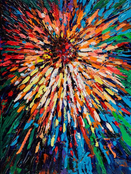 Petal Galaxy Original Art | Terrie Haley Artist
