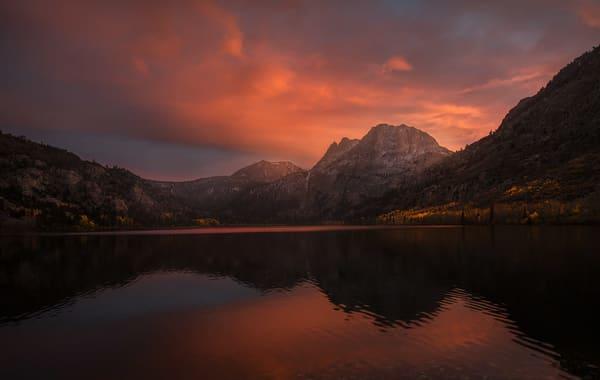 Eastern Sierra June Lake Loop | Silver Lake Sunset by Charlotte Gibb