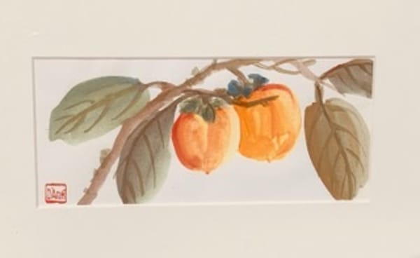 Two Persimmon  Art | donnadacuti