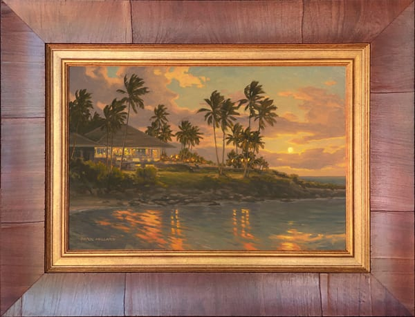 Kapalua Sunset ~ In Stock Framed Art | Daryl Millard Gallery LLC