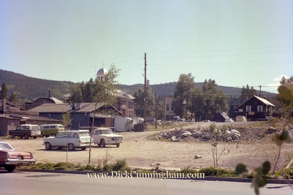 1978 Pre Construction East Side Of Main Art | Cunningham Gallery