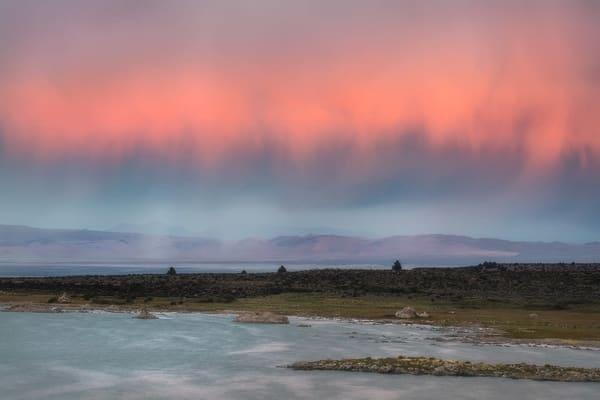 Mono Lake Sunset | Fine Art Print by Charlotte Gibb