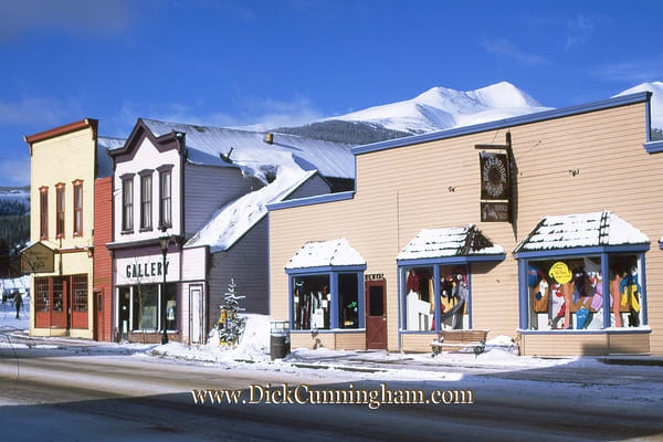 Sk Winter  Gallery  Breck Ski Shop Art | Cunningham Gallery