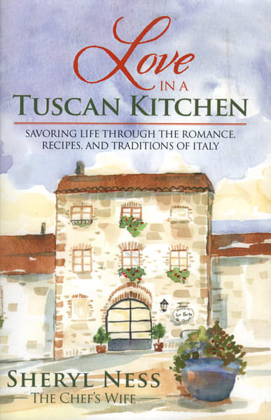 Love In A Tuscan Kitchen | Studio 100 Productions - Paula Wallace Fine Art and Illustration