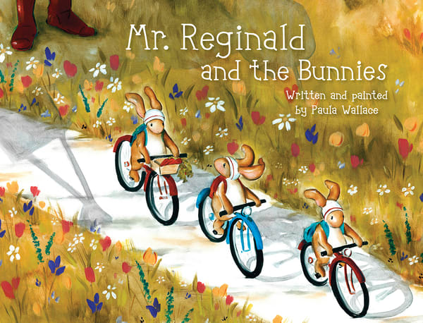 Mr. Reginald And The Bunnies | Studio 100 Productions - Paula Wallace Fine Art and Illustration