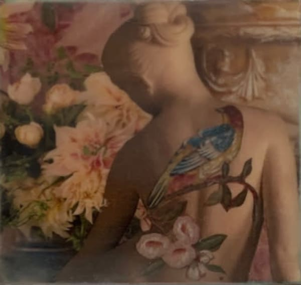 Girl With The Chinoiserie Tattoo Art | East End Arts