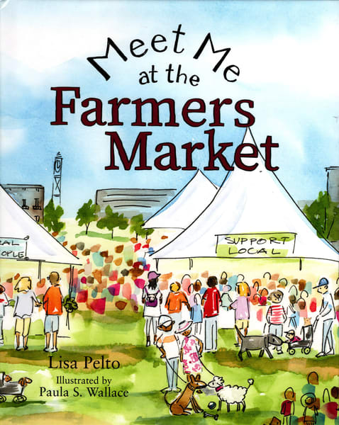 Meet Me At The Farmer's Market | Studio 100 Productions - Paula Wallace Fine Art and Illustration