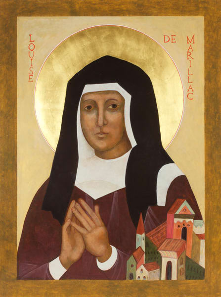 St. Louise de Marillac Icon