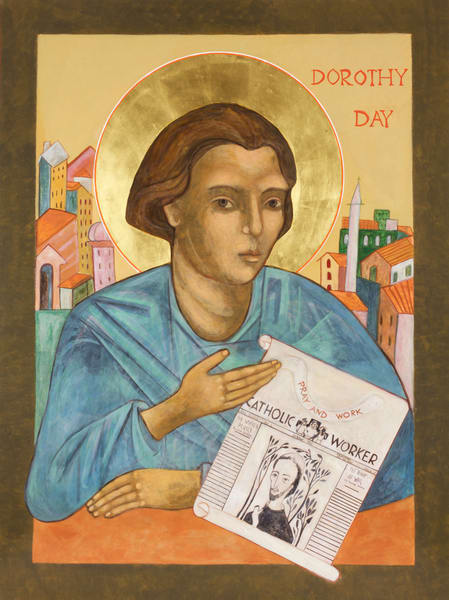 Dorothy Day Icon