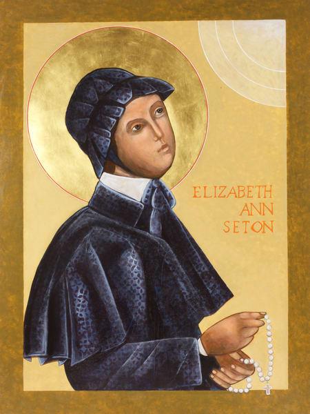 Saint Elizabeth Ann Seton Icon