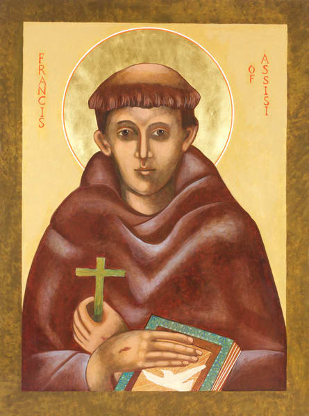 Saint Francis Icon