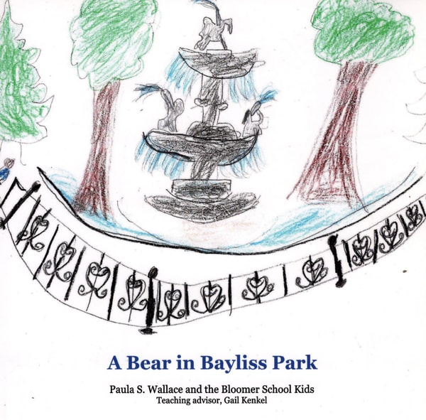 A Bear In Bayliss Park | Studio 100 Productions - Paula Wallace Fine Art and Illustration