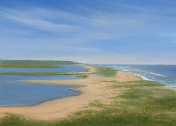 *Looking To The Coast Guard Station In Chatham, Cape Cod Art | Tarryl Fine Art