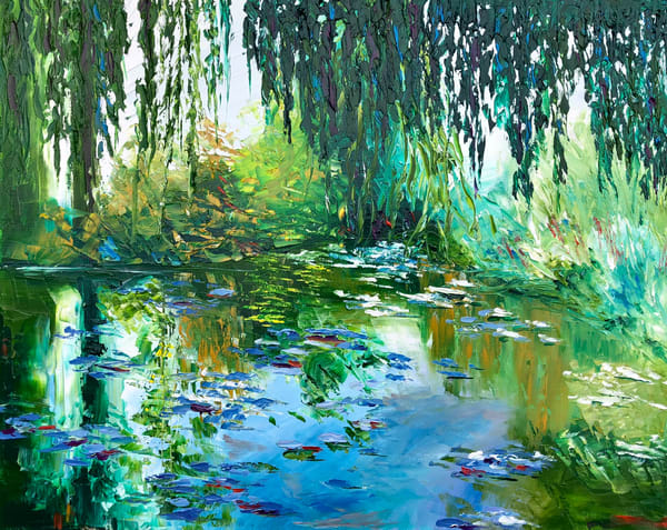 Memory Of Monet Art | Tessa Nicole Art