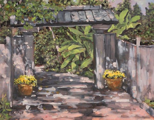 Asian Gate Art | Chris Doyle Fine Arts