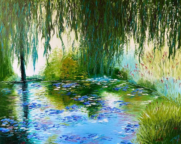 Memory Of Monet   Original Oil Painting Art | Tessa Nicole Art