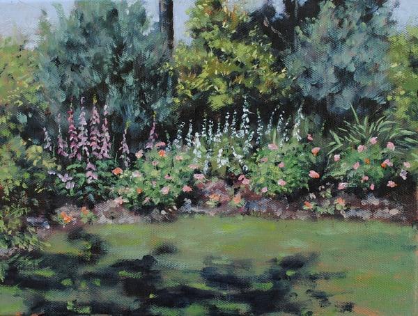 Brookgreen Foxglove And Roses Art | Chris Doyle Fine Arts