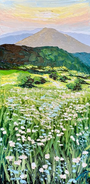 Field Of Lace   Original Oil Painting Art   Tessa Nicole Art