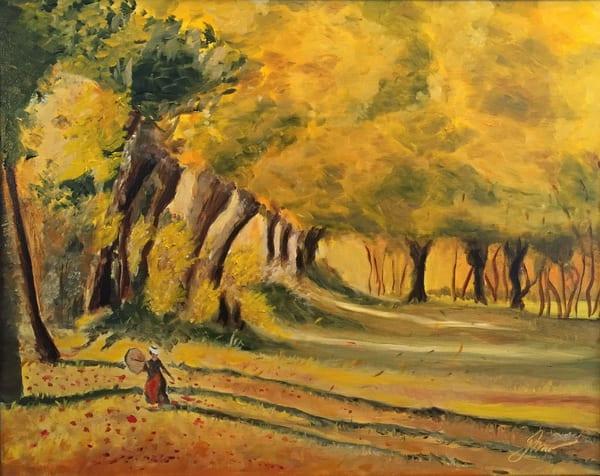 Woman In The Forest  Art | Scott Dyer Fine Art