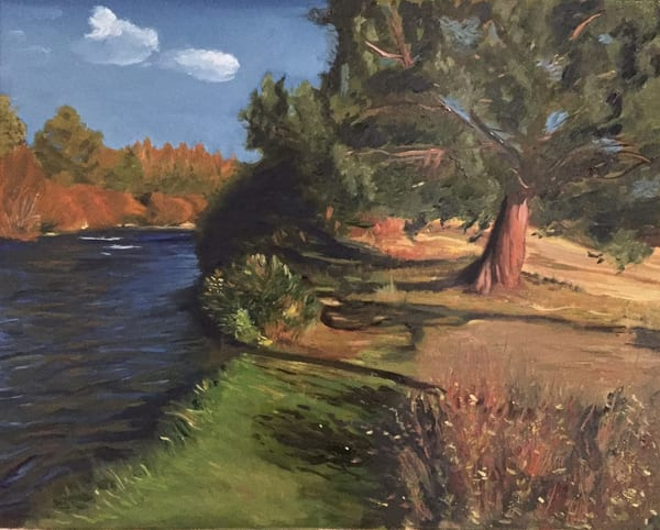Twin Bridges At Tumalo Art | Scott Dyer Fine Art