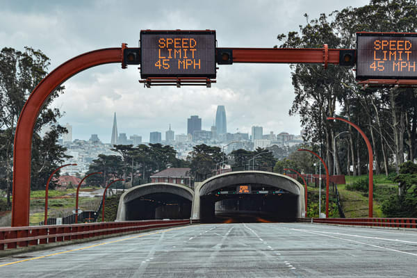 Golden Gate Bridge Tunnels Art | Anna Kim Studio