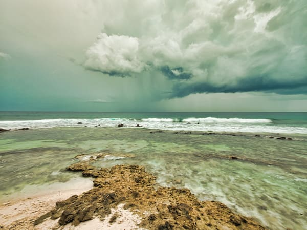 Maldives Storm | Beach and Ocean Photography Print