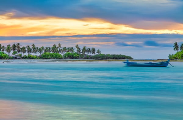 Maldives Tranquility | Beach and Ocean Photography Print