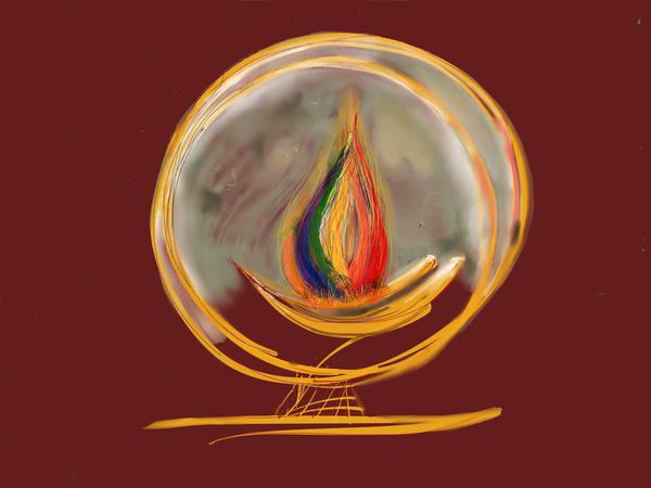 Rainbow Chalice 4a Art   ART By George!