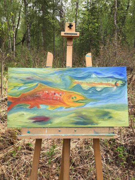Happy Fish Photography Art   Visionary Adventures, LLC