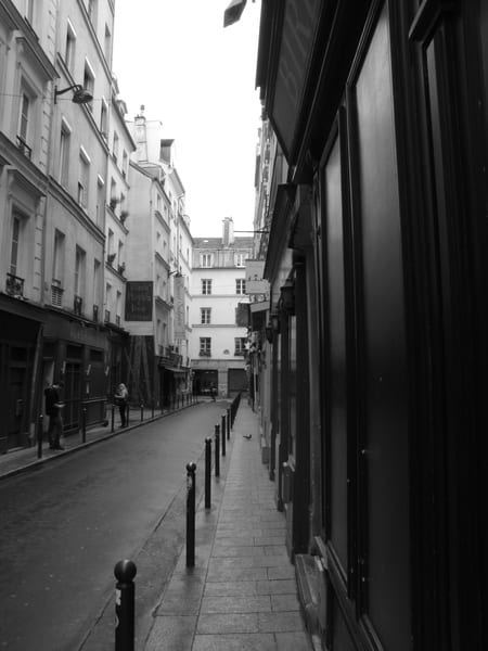 Left Bank,  Paris #1, Black And White Photography Art | Photoissimo - Fine Art Photography