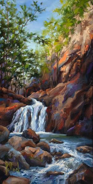 Along Bruce Creek original oil painting | Sarah Pollock Studio