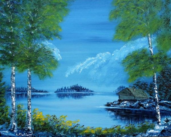 The Hunting Cabin Art | Lynda Moffatt Fine Arts
