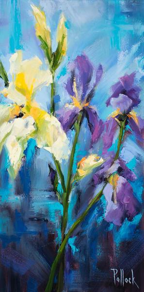 Irises fine art print | Sarah Pollock Studio