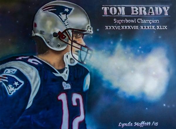 Tom Brady Art   Lynda Moffatt Fine Arts