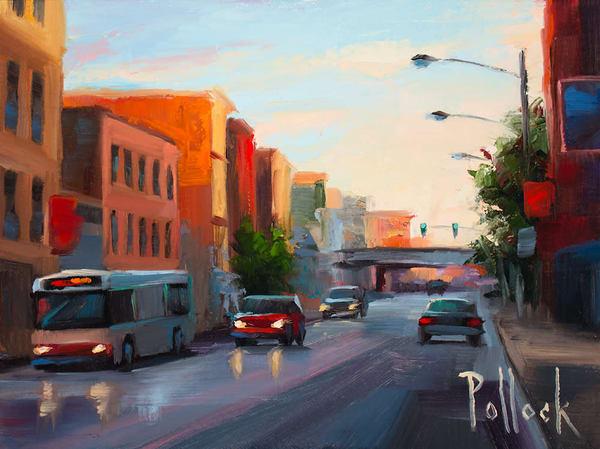 Chicago Morning original oil painting | Sarah Pollock Studio
