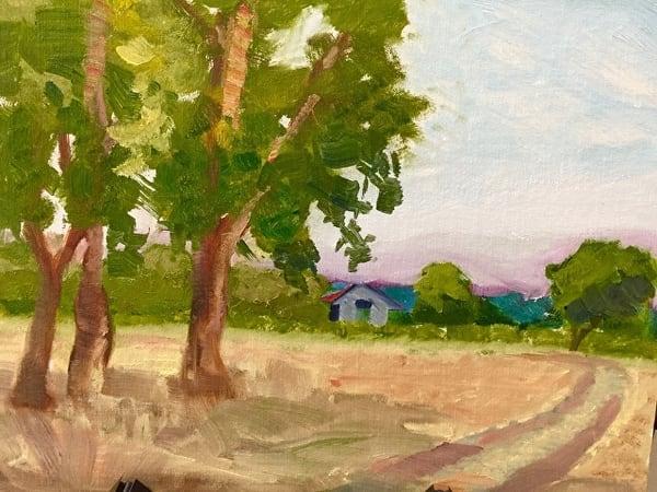Sauvie Island Afternoon Art | Scott Dyer Fine Art