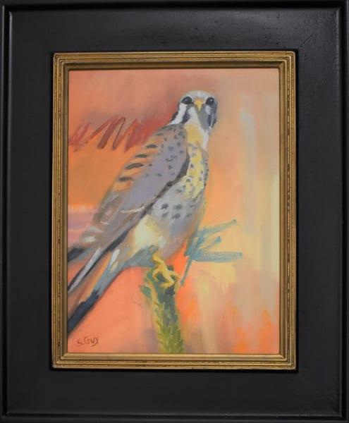Kestral Colors   Original Framed Oil Art | Sharon Guy