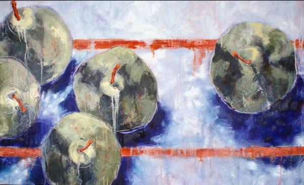 Blue Orange2 Art | Joan Cox Art