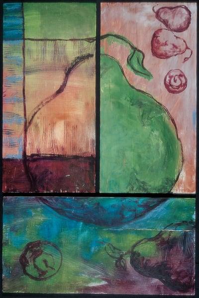 Folk Pears Art | Joan Cox Art